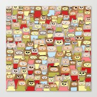 bears Canvas Prints featuring bears! by Asja Boros