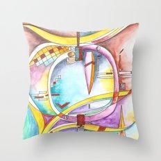 ...found your life... Throw Pillow