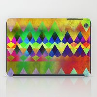 camp iPad Cases featuring Camp Fire by Gréta Thórsdóttir