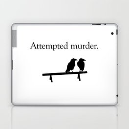 Attempted Murder Laptop & iPad Skin