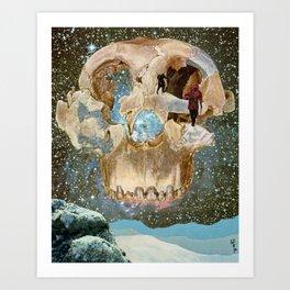 Close to Death Art Print