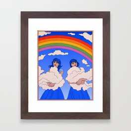 The Cloud Keepers Framed Art Print