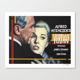 Vertigo poster version Canvas Print