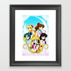 NEW ANIME COLLECTION 7 Framed Art Print