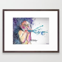 I'm Pretty Fantastic Framed Art Print