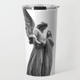 Angel Statue Travel Mug