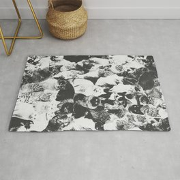 Cats Forever B&W Rug