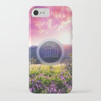calendar iPhone & iPod Cases featuring CALENDAR JANUARY 3 by Ylenia Pizzetti