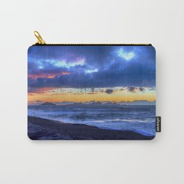 Stormy Icelandic Sunset Carry-All Pouch