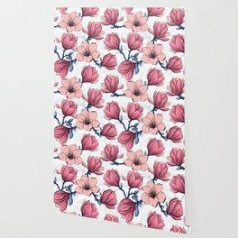 Magnolia garden 2   Wallpaper