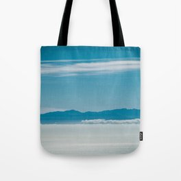 Somewhere Over the Clouds Tote Bag