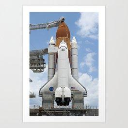 679. Space Shuttle Endeavour Art Print