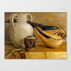 Mandolin At Rest Canvas Print