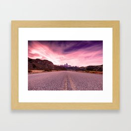 Enter Patagonia Framed Art Print