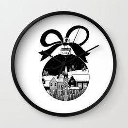 christmas ball Wall Clock