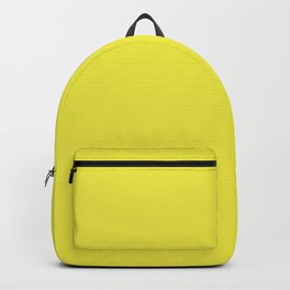 Blazing Yellow   Solid Colour Backpack