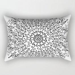 Spring mandala Rectangular Pillow