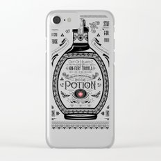 Legend of Zelda Red Chu Potion Advertisement Clear iPhone Case