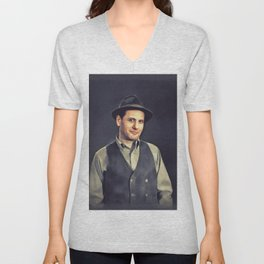 Eli Wallach, Vintage Actor Unisex V-Neck