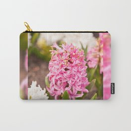 Hyacinthus flowering cluster pink Carry-All Pouch