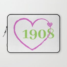 1908 Heart Laptop Sleeve