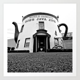 The Java Jive Art Print