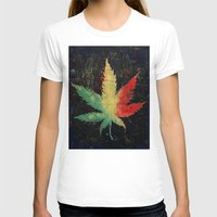 marijuana T-shirts featuring Marijuana by Michael Creese