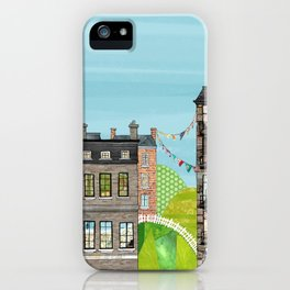 Houses are Homes iPhone Case
