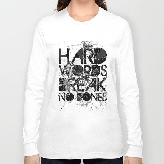 HARD WORDS Long Sleeve T-shirt