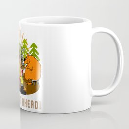 Camping Wild Night Ahead Coffee Mug