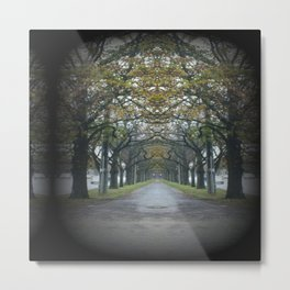 Nature's guard of Honour Metal Print