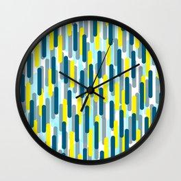 Fast Capsules Vertical Wall Clock