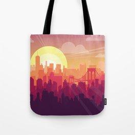 Brooklyn Sunset Tote Bag