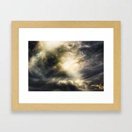 Cloudio Di Porno III Framed Art Print