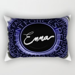 my name is Emma Rectangular Pillow