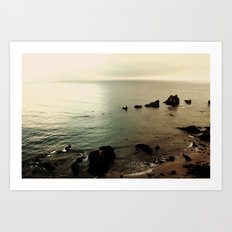 Indian Beach Art Print