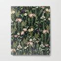 Dark Botanical Garden #society6 #natureart #pattern by 83oranges