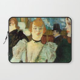 "Henri de Toulouse-Lautrec ""La Goulue"" Laptop Sleeve"