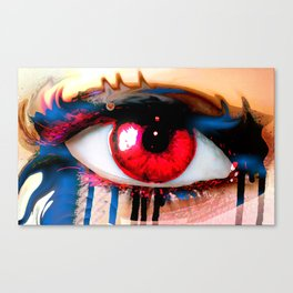 Window Of The Soul - Love Canvas Print