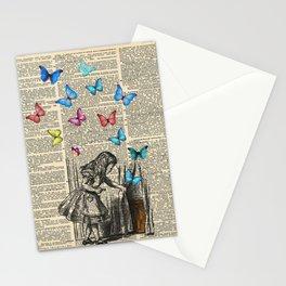 Alice In Wonderland - Let The Adventure Begin Stationery Cards