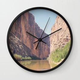 Santa Elena Canyon Wall Clock