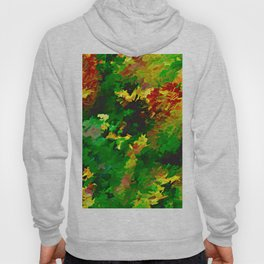 Emerald Forms Abstract Hoody