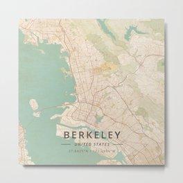 Berkeley, United States - Vintage Metal Print