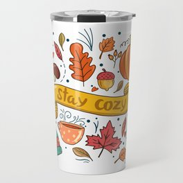 Stay Cozy in Autumn Travel Mug