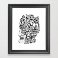 Keep an Open Mind Framed Art Print