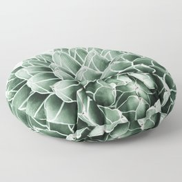 Succulent splendour Floor Pillow