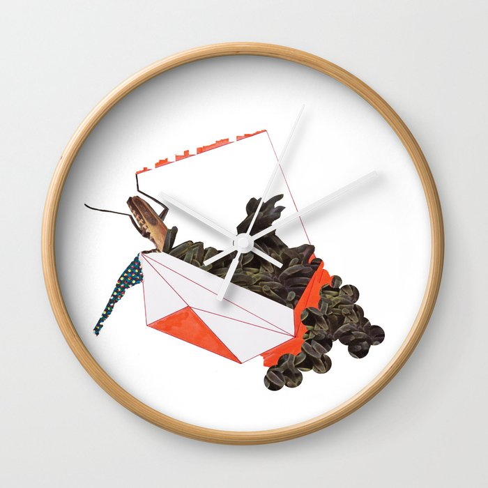 Beetle Box Wall Clock