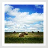 The Prairies Art Print