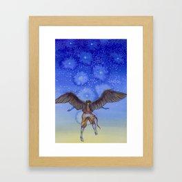 On Steady Wings Framed Art Print