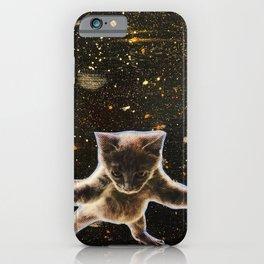 Kitten. In. Space. iPhone Case